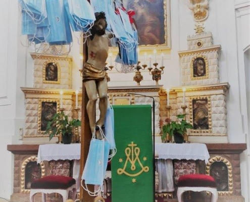 Altar des Gottesdienstes